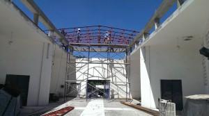 Delmas 5 - Episcopal Chruch Roof - In Progress
