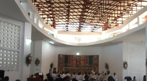 Delmas 5 - Episcopal Church Roof - First Service November 2013