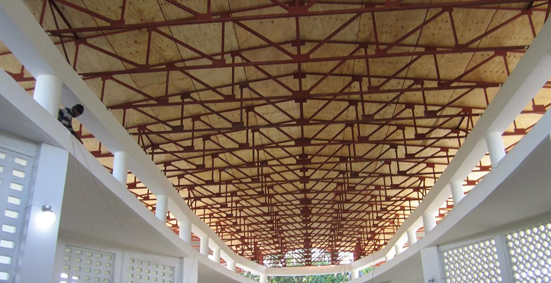 Delmas 5 - Episcopal Church Roof - Progress