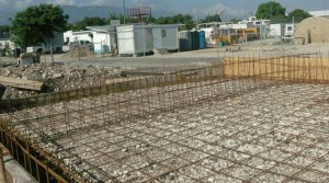 Minustah - Rebar Work Prior to Concrete for Generator Pad