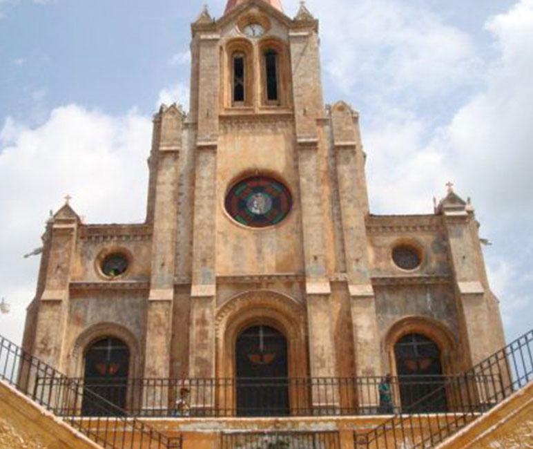 Miragoane - Cathedral of Miragoane - Pre Constrctuion