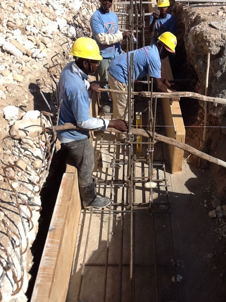 YCF Rebar Team at work