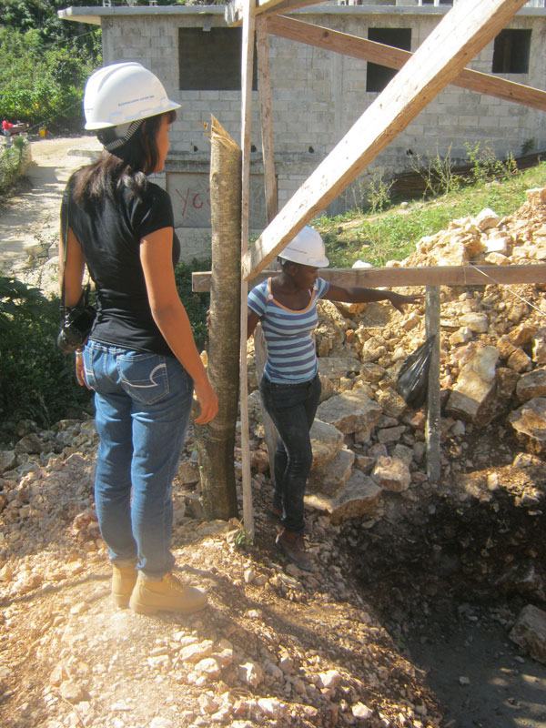 YCF Women Engineers and Architects at Work