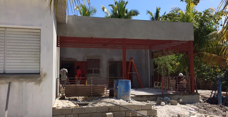 Medical Clinic ll-a-vache - In progress 1