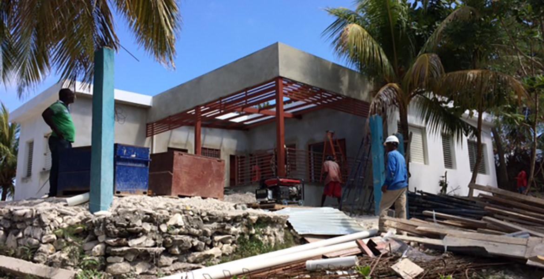 Medical Clinic ll-a-vache - In progress 2
