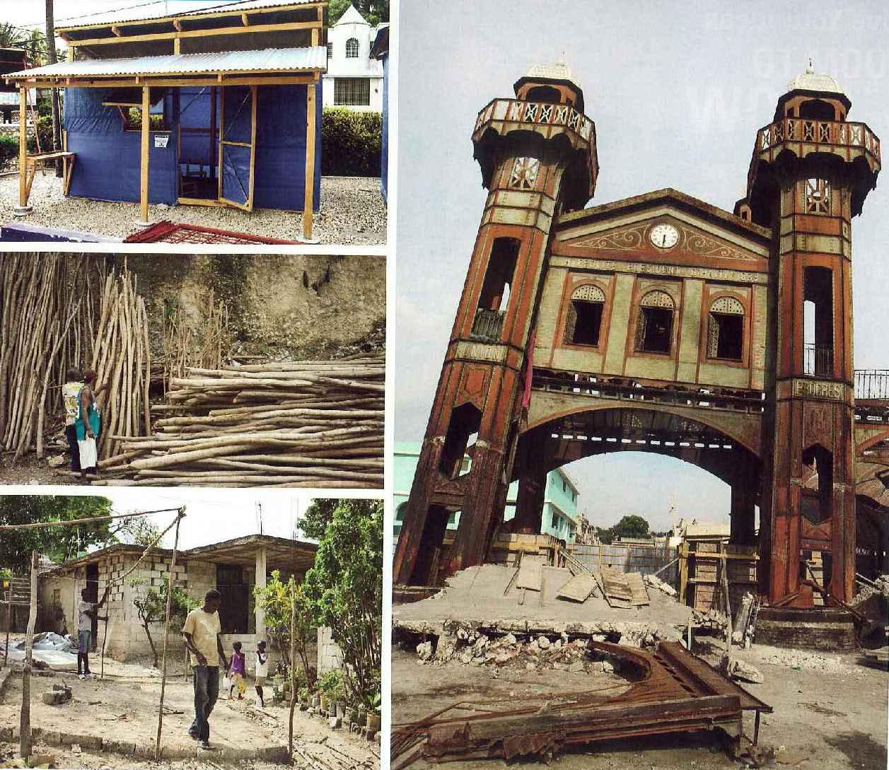 Haiti ruins